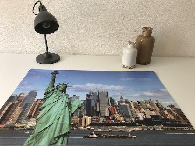 Bureau onderlegger skyline NEW YORK USA