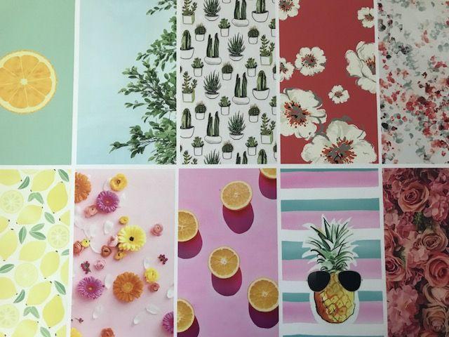 Bureau onderlegger FRUIT, FLOWERS & PLANTS