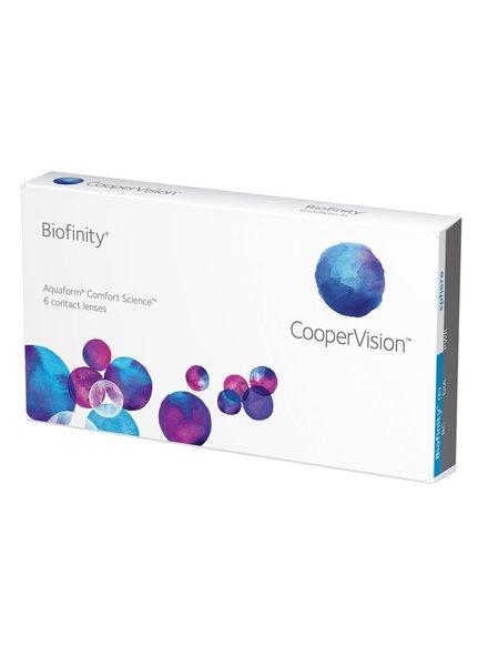 Biofinity contactlenzen 6-Pack - Coopervision