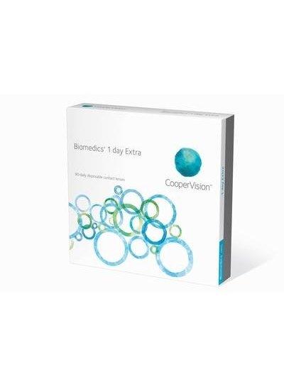 Biomedics 1-Day Extra 90-Pack van Coopervision bestelt u makkelijk en snel bij Fuva.nl