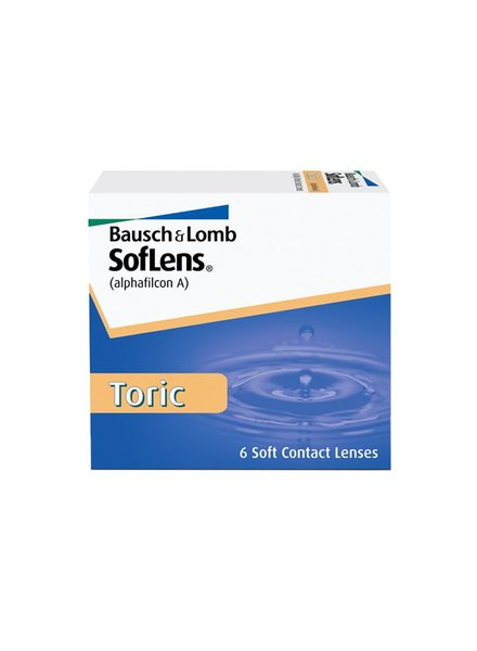 Soflens Toric for Astigmatism 6-Pack - Bausch & Lomb