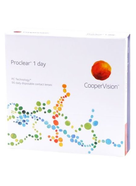 Proclear 1 day 90-Pack - Coopervision