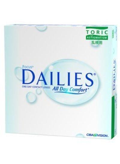 Focus Dailies ADC Toric 90-Pack van CIBA Vision bestelt u makkelijk en snel bij Fuva.nl