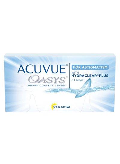 Acuvue Oasys for Astigmatism with hydraclear plus 6-Pack van J&J bestelt u makkelijk en snel bij Fuva.nl