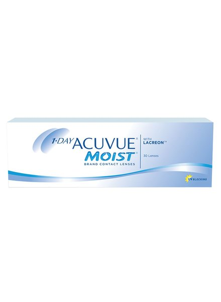 1-day Acuvue Moist 30-Pack - Johnson & Johnson