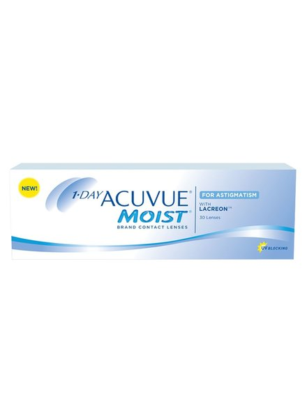 1-day Acuvue Moist for Astigmatism 30-Pack - Johnson & Johnson