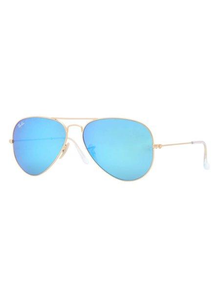 blauwe ray ban bril