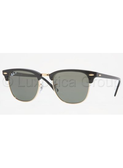 Ray-Ban Clubmaster - RB3016 901/58 Gepolariseerd | Ray-Ban Zonnebrillen | Fuva.nl