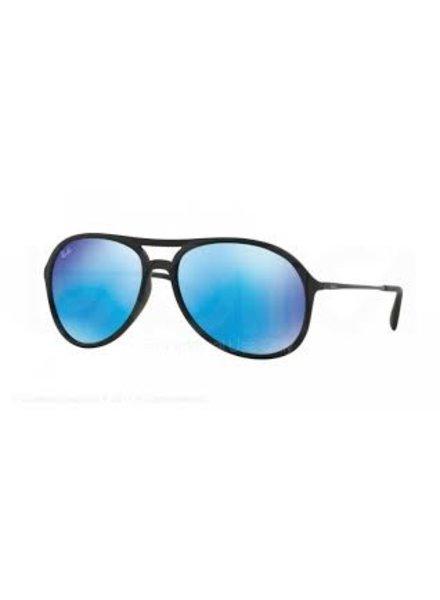 ray ban zonnebril blauwe spiegelglazen