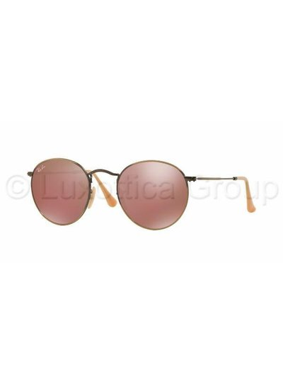 ray ban rond roze
