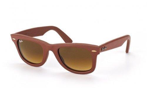 RB2140QM Wayfarer Leather | zonnebrillen online bestellen