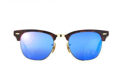 ray ban spiegelglas blauw