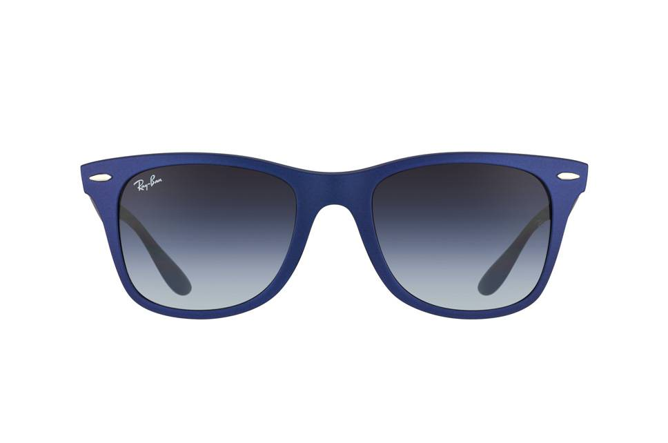 ray ban blauw
