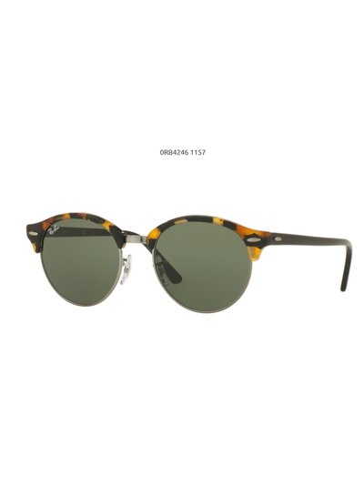 Ray-Ban Clubround - RB4246 1157 | Ray-Ban Zonnebrillen | Fuva.nl