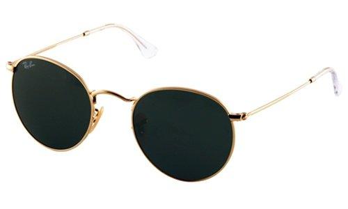 Round metal Vintage zonnebril