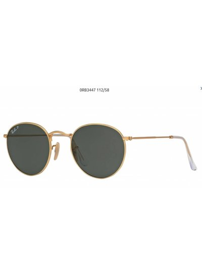 Ray-Ban Round Metal - RB3447 001/58 | Ray-Ban Zonnebrillen | Fuva.nl