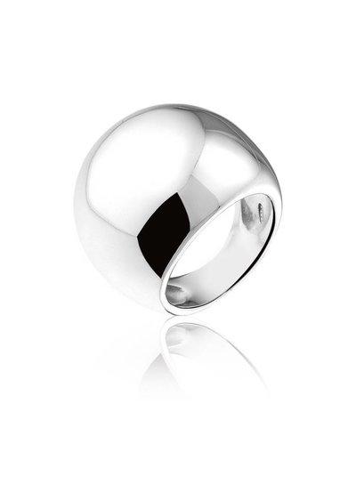 Zilveren ring in bolvorm | Ringen | Sieraden online bestellen | Fuva.nl
