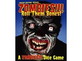 Zombies!!! Dice Game Roll Them Bones
