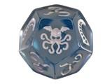 Cthulhu Dice 12 Sided - Ice Blue