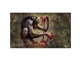 PLAYMAT Arkham Horror LCG Bloodlust