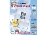 PAGES Hologram pokemon 9-Pocket 3 Hole (x10)