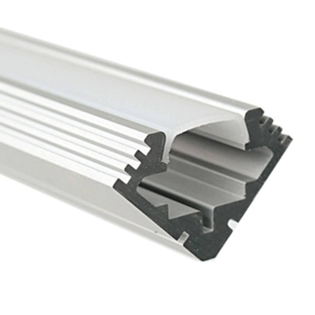 45 alu hoekprofiel voor ledstrips vallas lighting and - Profili angolari per piastrelle leroy merlin ...