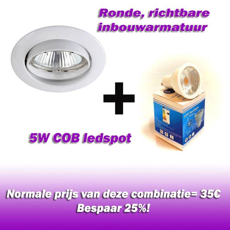 Vallas Inbouwkit Indigo KS1012 inclusief LED lamp