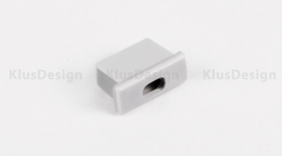 Klus Design Afsluitkap met kabelingang Micro-Alu profiel
