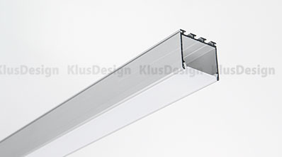 Klus Design Aluminium inbouwprofiel LIPOD