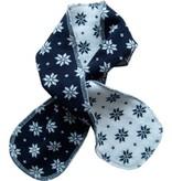 Hopsan Hopsan Snowstar Mini Scarf Marineblauw/Creme