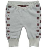 Hopsan Hopsan Solid Snowstar Pant Creme/Red