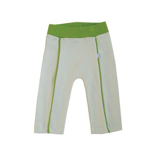 Hopsan Hopsan Piping Pant Creme/Green