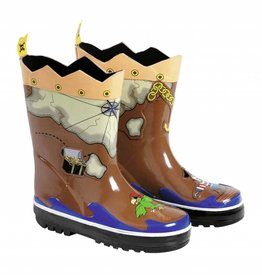 Kidorable Kidorable Pirate Rain Boots