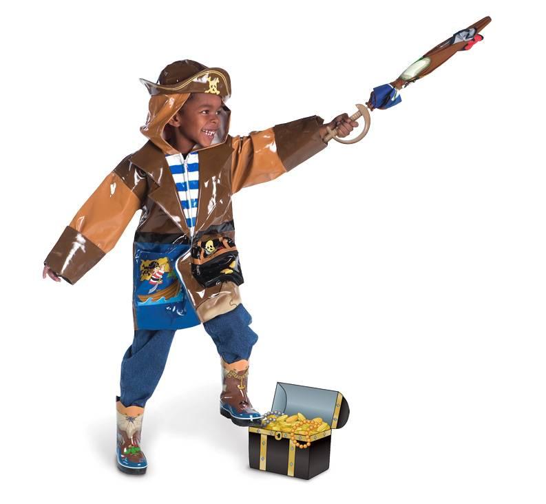 Kidorable Kidorable Waterdichte Regenjas Piraat