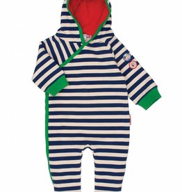 Olive & Moss Olive & Moss Douglas the Dog Hooded Romper