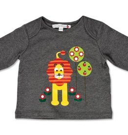 Olive & Moss Louis the Lion Classic Day Long Sleeved T-Shirt