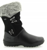 Clarks Clarks Arlina Go GTX Black Leather Infant Snowboot