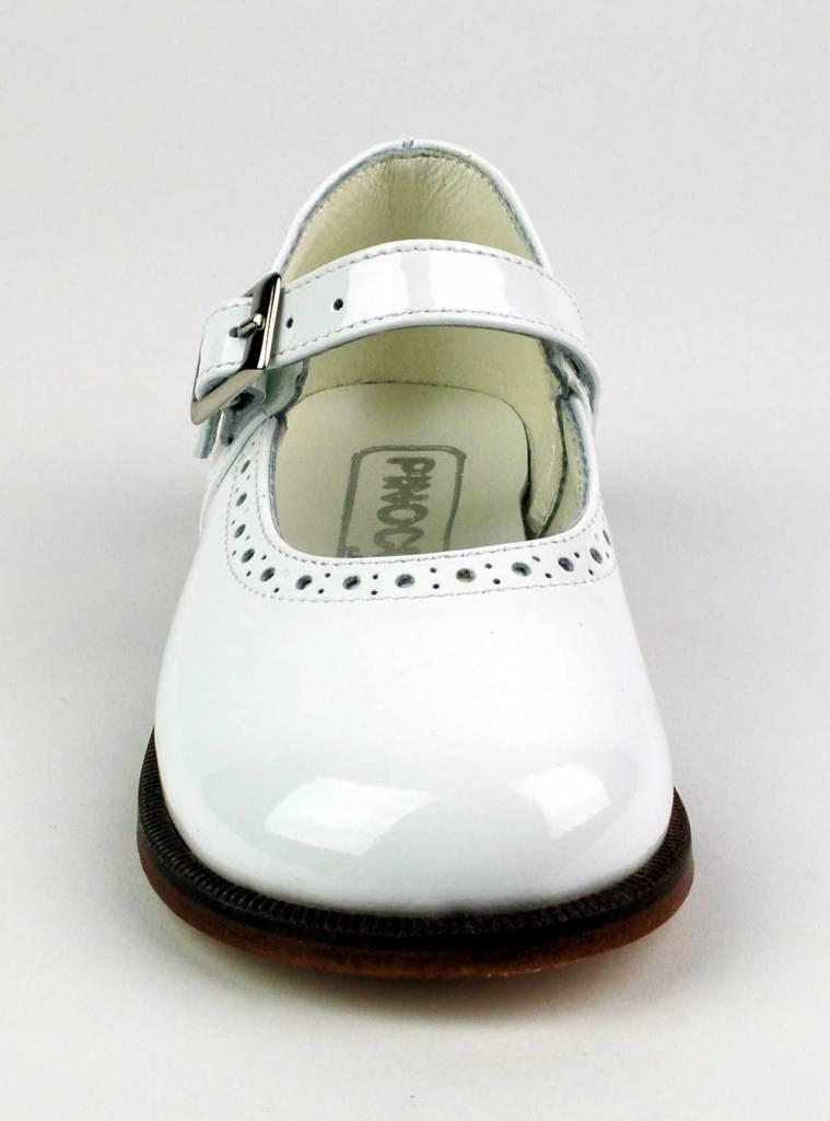 Pinocchio Pinocchio Ballerina Dress Shoe White P1350