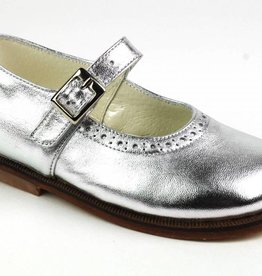 Pinocchio Ballerina Dress Shoe Silver