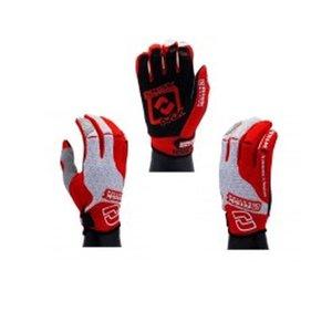 RISK RACING Carbide Moto Glove - kleur rood/wit