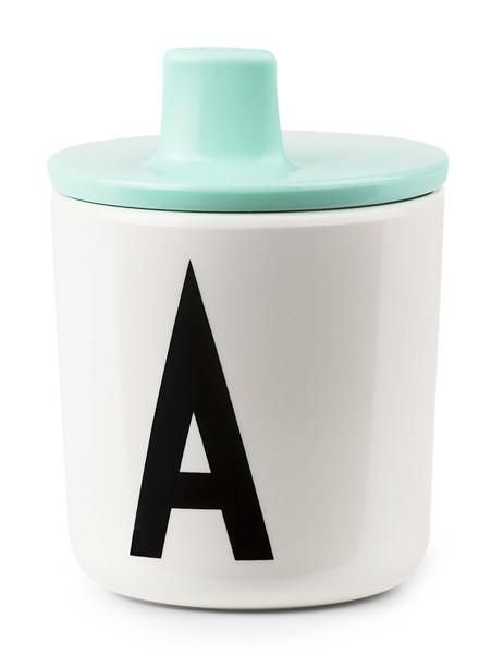 Design Letters kids Design Lettters Drinkdeksel mintgreen