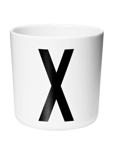 Design Letters kids Design Lettters Drinkbeker met voorletter X