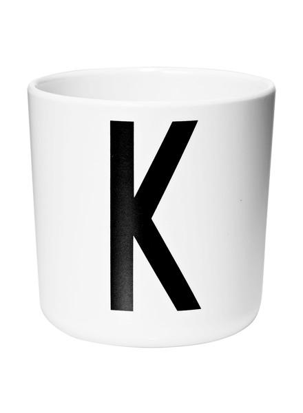Design Letters kids Design Lettters beker met voorletter K