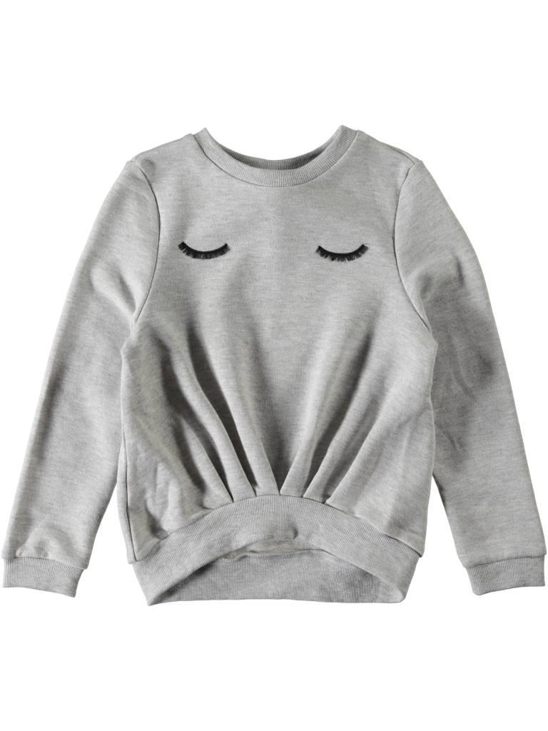 Name it Nithila sweater grey melee