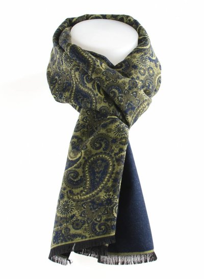 Viscose scarf paisley
