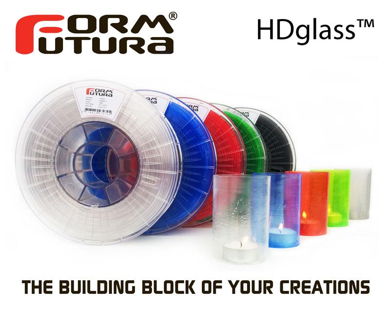 HDglass™ poster