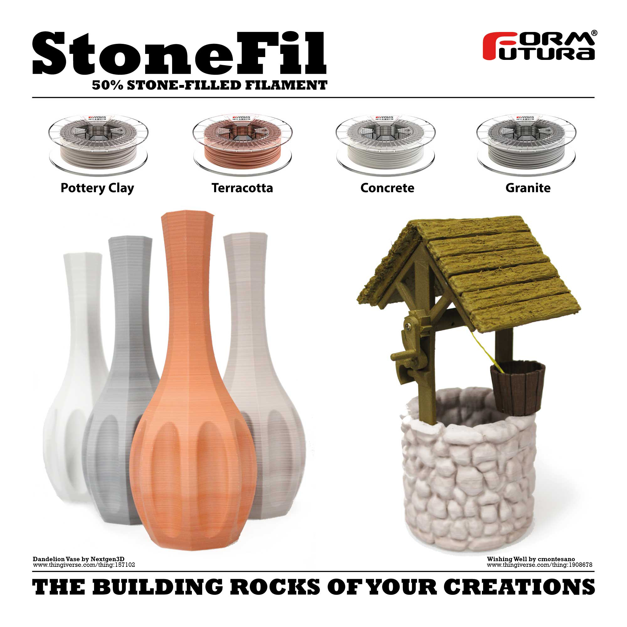 StoneFil™ Filament