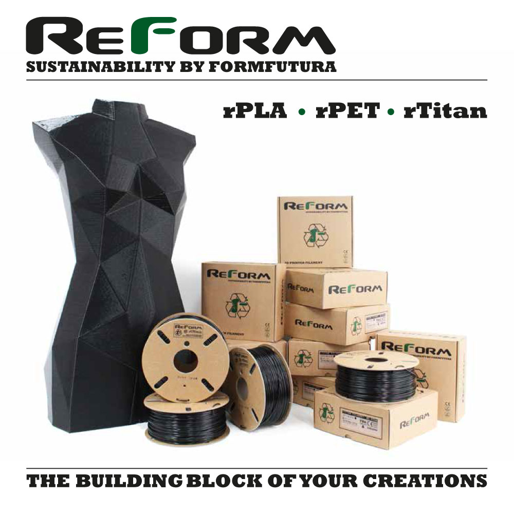 ReForm™ Filaments by Formfutura