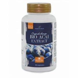 Biologische Acai 20:1 extract, 90 vegetarische capsules