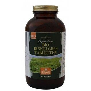 BIO Speltgras (Dinkelgras) 750 tabletten